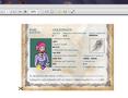 Atver lejuplādēto failu Goldingen_passport.pdf ar bezmaksas programmu Adobe Reader un nospied pogu PRINT FILE.